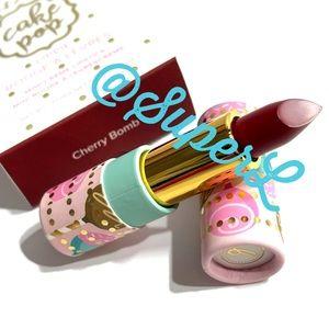 2/$15 Beauty Bakerie Cake Pop Lipstick Cherry Bomb